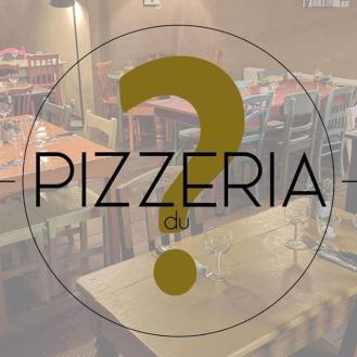 Logo pizzeria point interrogation